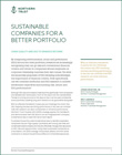 SUSTAINABLE COMPANIES FOR A BETTER PORTFOLIO